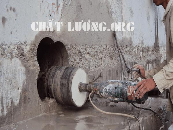 Khoan cắt, rút lõi bê tông tại phường Định Công