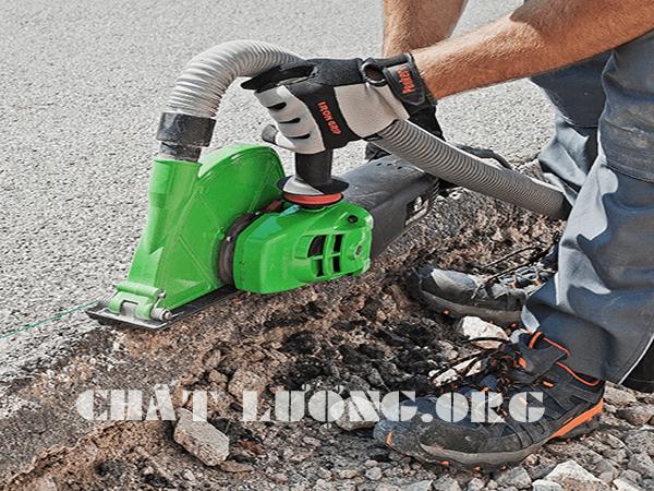 Khoan cắt đường, rút lõi bê tông ở Bà Triệu