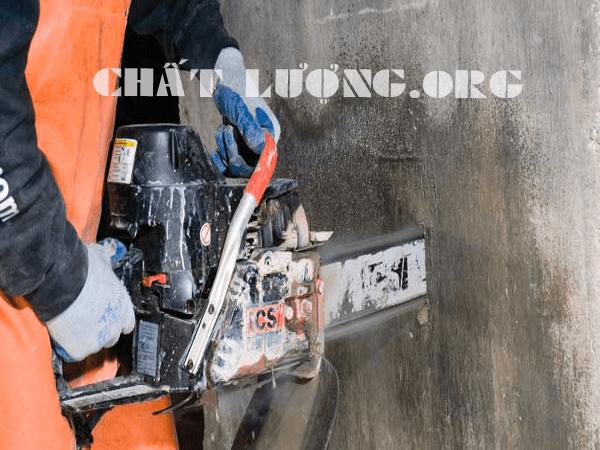 Khoan cắt, rút lõi bê tông tại phường Láng Hạ