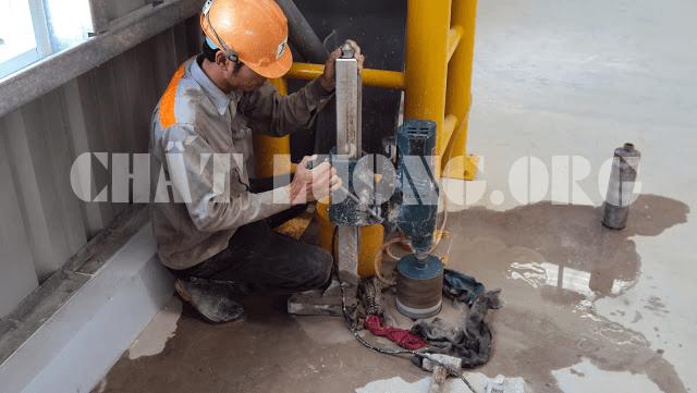 Dịch vụ khoan cắt bê tông tại Hà Đông