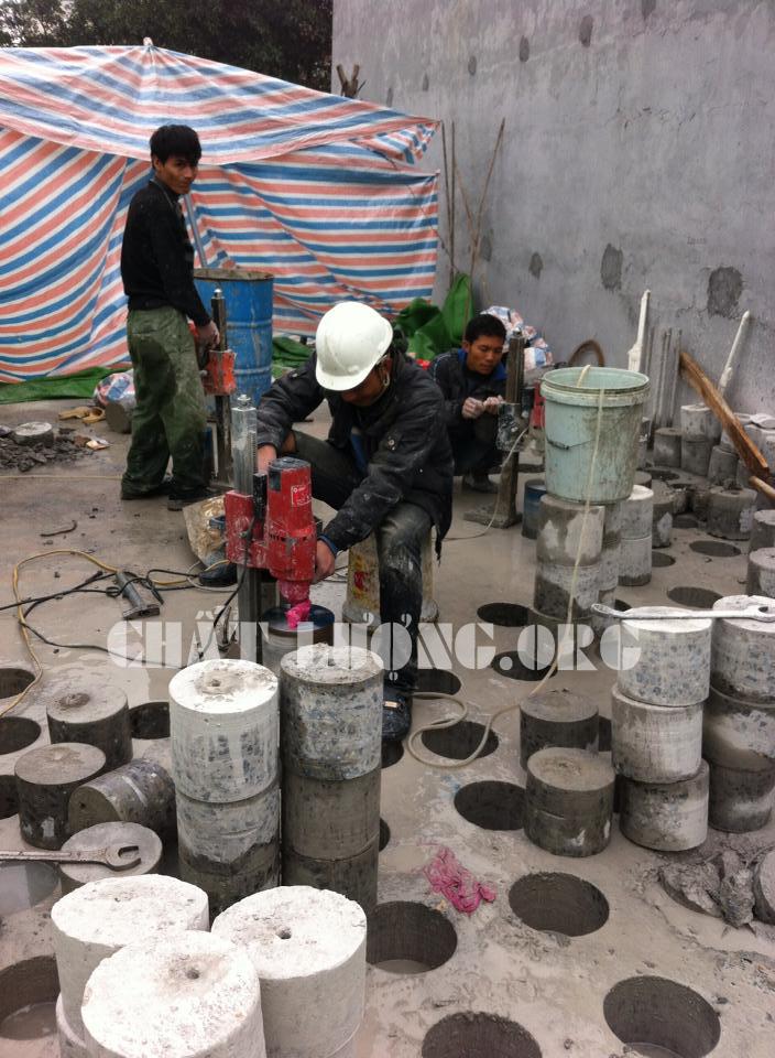 Khoan cắt bê tông ở Vĩnh Yên: 0912.054.117